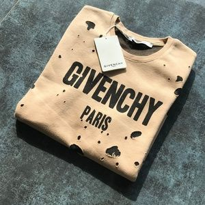 GIVENCHY Men's Sweat Laser NWT Cotton Medium